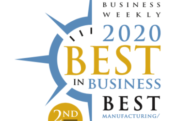 2nd Place Best in Business for Manufacturing & Logistics | Novo Logistics